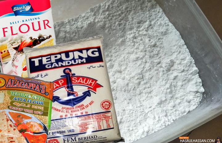 Mengenali Jenis Tepung Gandum Yang Digunakan Dalam Resepi Kuih-Muih, Kek dan Pastri