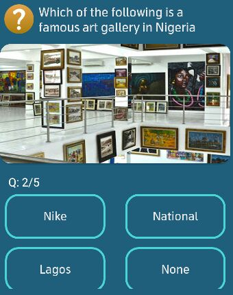 Which of the following is a famous art gallery in Nigeria