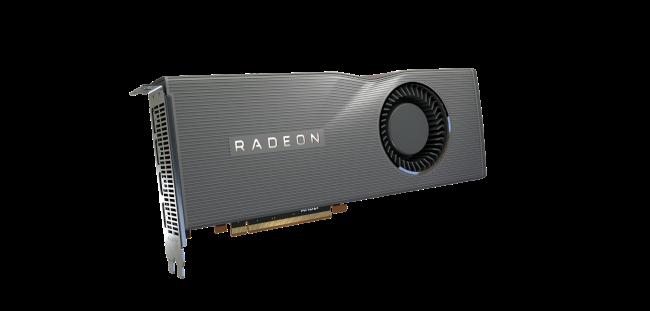 بطاقة رسومات AMD Radeon.