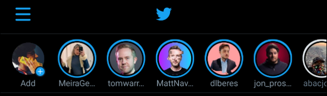 Fleets على تطبيق Twitter