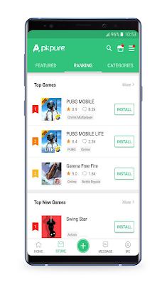 تحميل تطبيق APKPure| اخرى اصدار للاندرويد البديل لمتجر جوجل بلاي لتحميل التطبيقات مجانآ والغير موجودة في مكان اخرى
