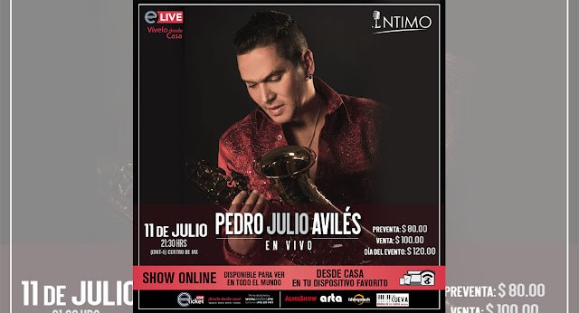 Pedro Julio Avilés presentara un show online único para todo el mundo