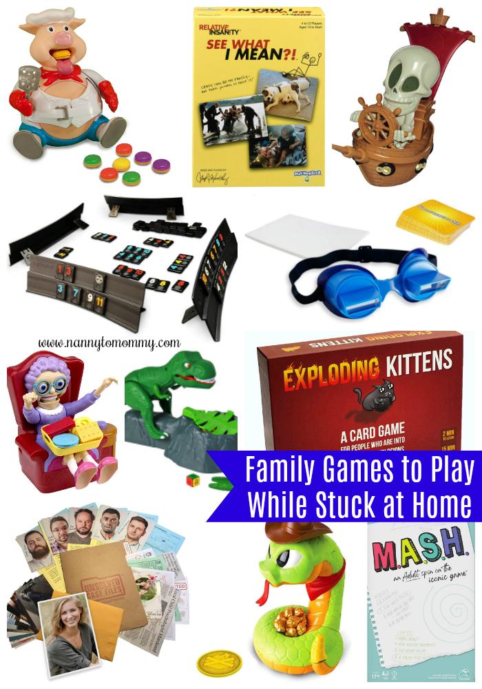 Family Game Ideas