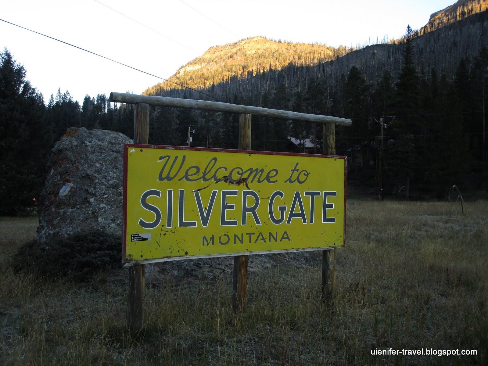 Сильвер Гейт, Монтана(Silver Gate, Montana)