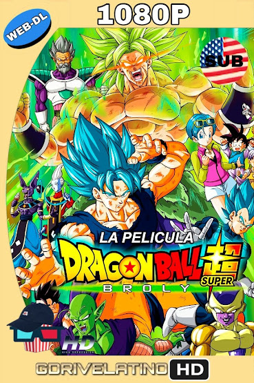 Dragon Ball Super: Broly (2018) WEB-DL 1080p SUBTITULADO MKV