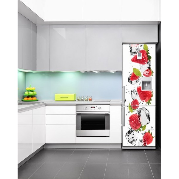 Cocinas con adhesivos decorativos decoraci n de cocinas - Vinilos decorativos pared leroy merlin ...
