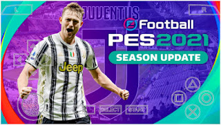 Download PES 2021 PPSSPP Peter Drury Commentary Update Latest Transfer & New Face Kits Camera PS5