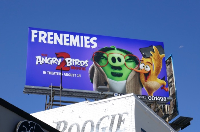 Angry Birds 2 billboard