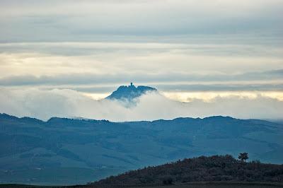 Paesaggio della Val d'Orcia