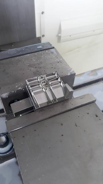 Chi tiết mẫu gia công trên máy phay cnc Mycenter-4XiD Kitamura