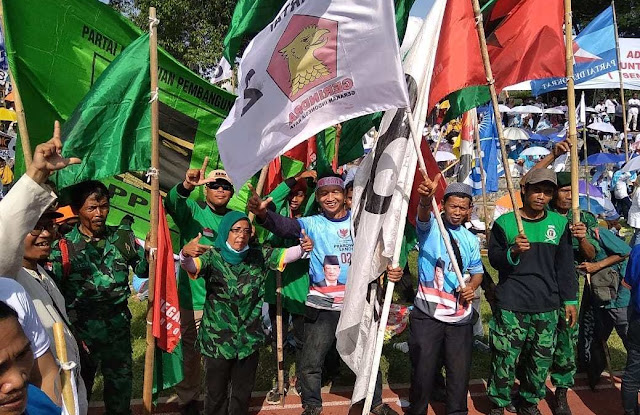 Kampanye Akbar di Solo,  Ada Kader PPP Pilih Dukung Prabowo