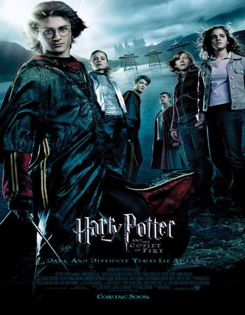 Harry Potter and the Goblet of Fire 2005 Hindi Dual Audio 700MB BluRay 720p ESubs HEVC