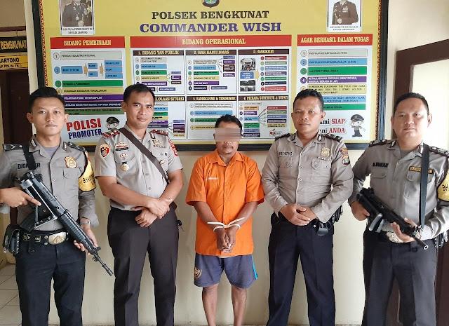 Satreskrim Polsek Bengkunat Menangkap Satu Pelaku Kasus Perkara Persetubuhan Anak di Bawah Umur