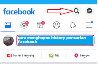 Cara Menghapus History Pencarian Facebook Android Terbaru