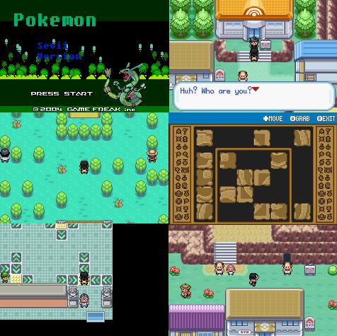 Pokemon Sevii GBA ROM Download
