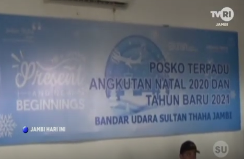 20 Bandara Sultahn Taha Jambi Dirikan Posko Natal Dan Tahun Baru