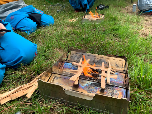 leave no trace camp fire on river tyne