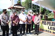 FDW - PYR Sambut Kunjungan Gubernur Olly
