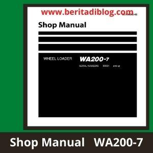 WA200-7 wheel loader komatsu shop manual
