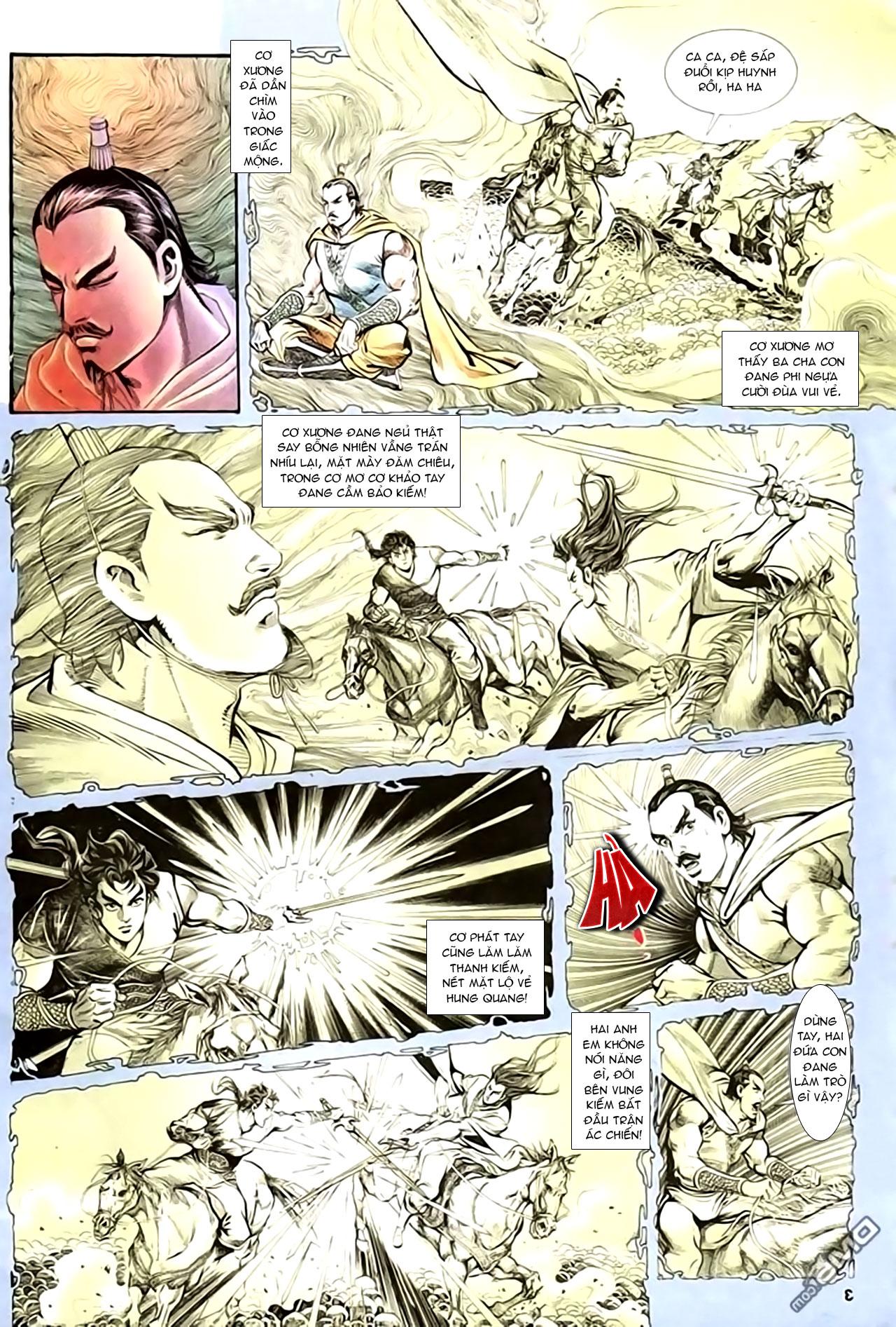 Cơ Phát Khai Chu Bản chapter 136 trang 4