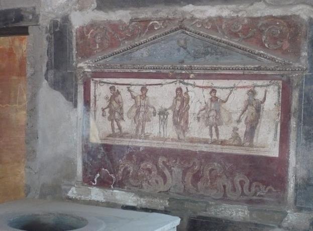 affreschi a Pompei