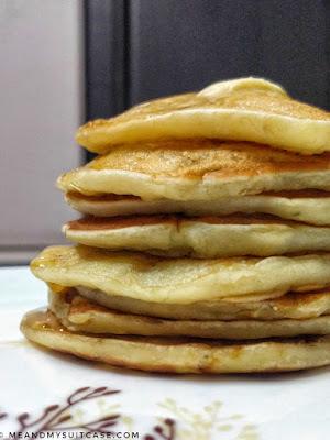 lots of pancake, easy to make at home