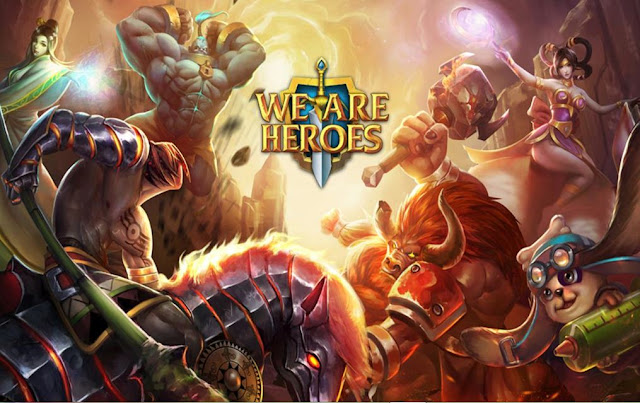 We Are Heroes v.2.0.4 Mod APK Full  [ High Damage + Health ]
