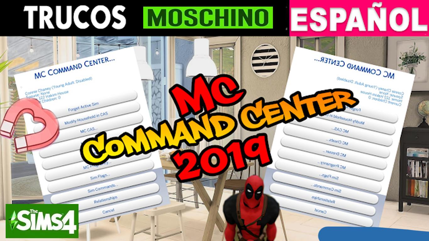 MC COMMAND CENTER EN ESPAÑOL - SIMS 4 - 1 54 120