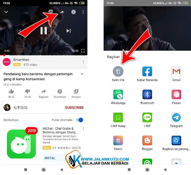 cara download video dari youtube ke galeri tanpa aplikasi yang bisa lewat hp, laptop atau pc.
