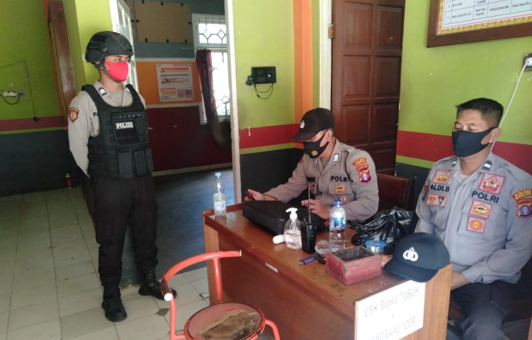 Satsabhara Polres Mura Gencar Giatkan Patroli Di Kantor KPU dan Bawaslu