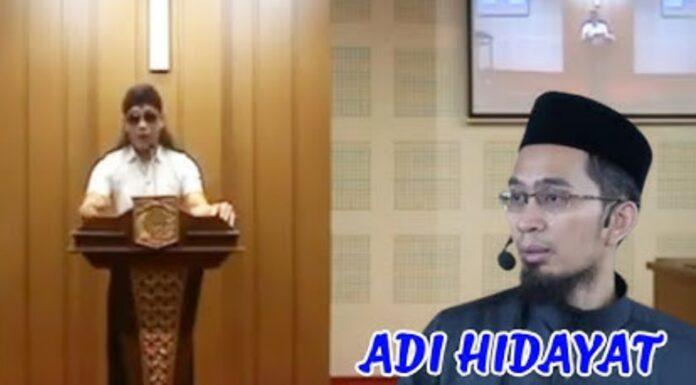 Gus Miftah Masuk Gereja, Ustadz Adi Hidayat Ingatkan Fatwa Pendiri NU: Haram Hukumnya, Tidak Boleh!