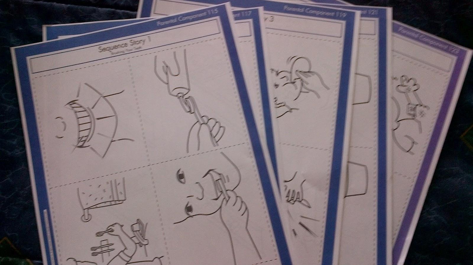 Preschooler Busy Hands Preschool Worksheets Sequence Order