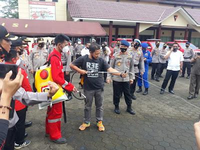 Kapolda Jambi Buka Pelatihan Pengendalian dan Penanggulangan Karhutla di Mako Satbrimob