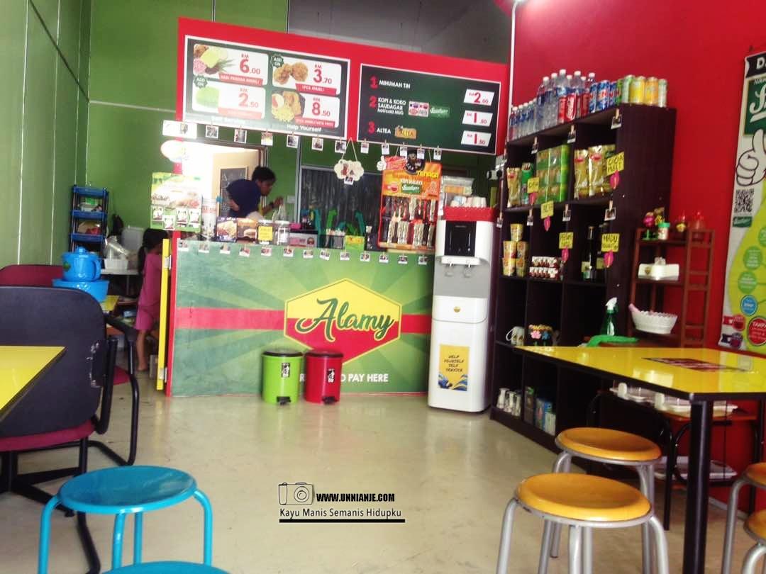 Alamy Cafe, Alam Mesra Kota Kinabalu