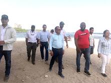 Ministro Medio Ambiente junto a otros funcionarios realiza recorrido de inspección y seguimiento a obras dispuestas por el presidente Medina en Isla Saona y Bayahíbe