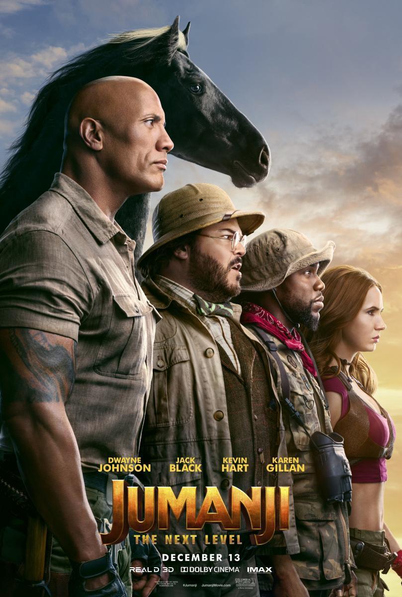 Download Jumanji The Next Level (2019) Full Movie in Hindi Dual Audio BluRay 1080p [4GB]
