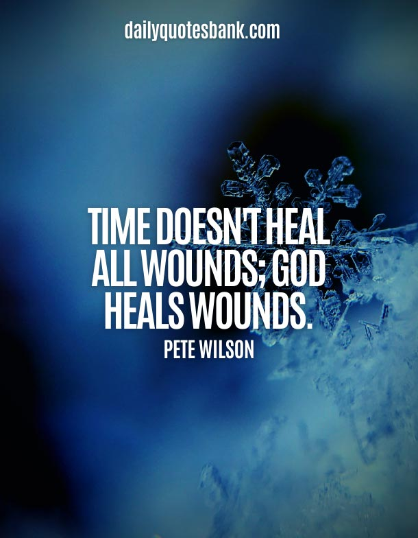 Short Quotes About God Healing Power