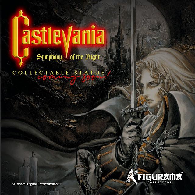 Castlevania: Symphony of the Night Statue anunciada por Figurama Collectors.