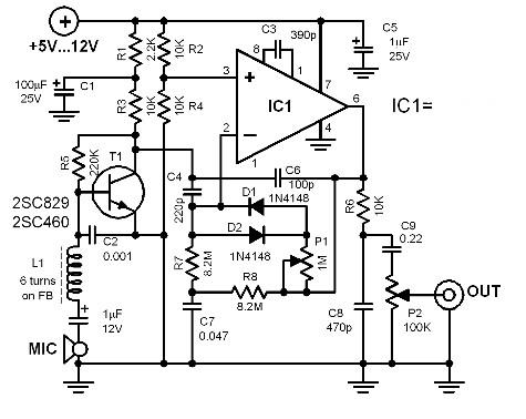 mic-processor-circuit-diagrams