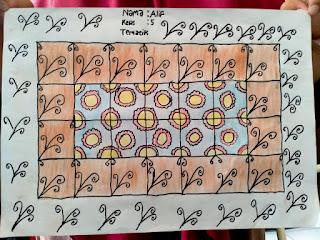 Kelas 5 SD Juara Bandung Belajar Tentang Batik