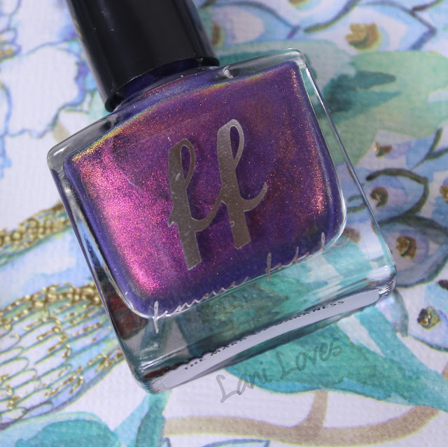 Femme Fatale The Mark of Darkness Nail Polish Swatches & Review