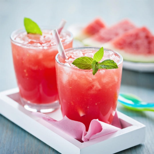 Method of action of red watermelon juice