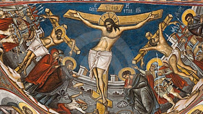 Crucifixion of Jesus Christ icon