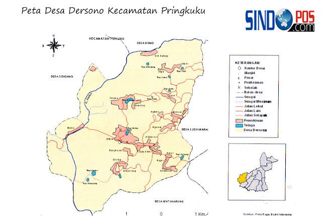 Profil Desa & Kelurahan, Desa Dersono Kecamatan Pringkuku Kabupaten Pacitan