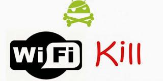 تطبيق (WifiKill Pro) لقطع الاتصال على من معك في نفس الشبكة