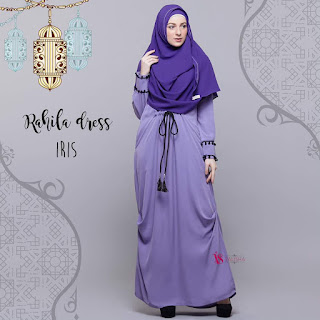 Gamis Valisha Rahila Dress Iris
