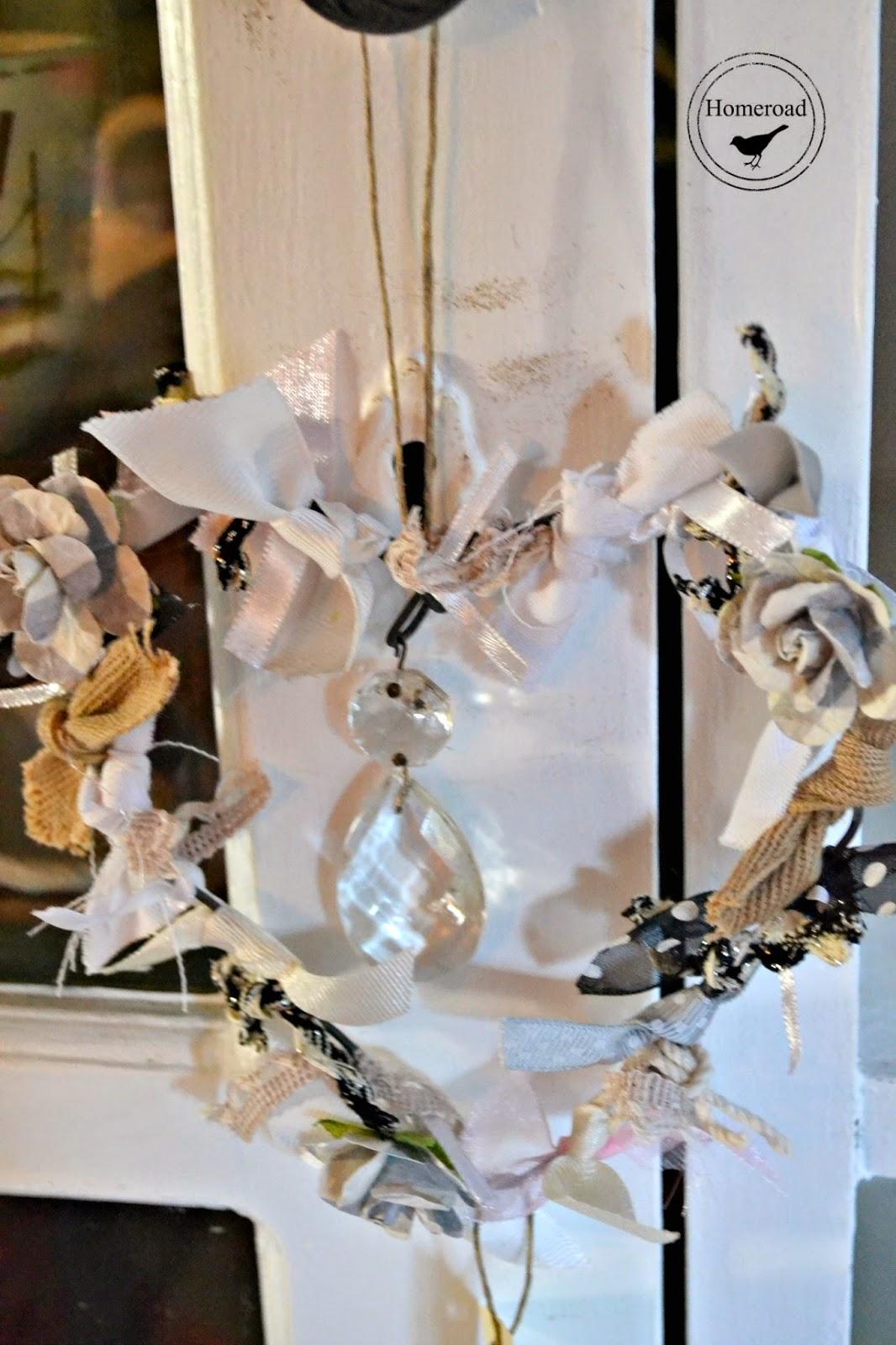 heart ribbon wreath www.homeroad.net