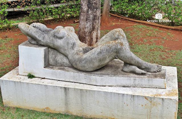 Close-up da Escultura Nu - Alesp - São Paulo
