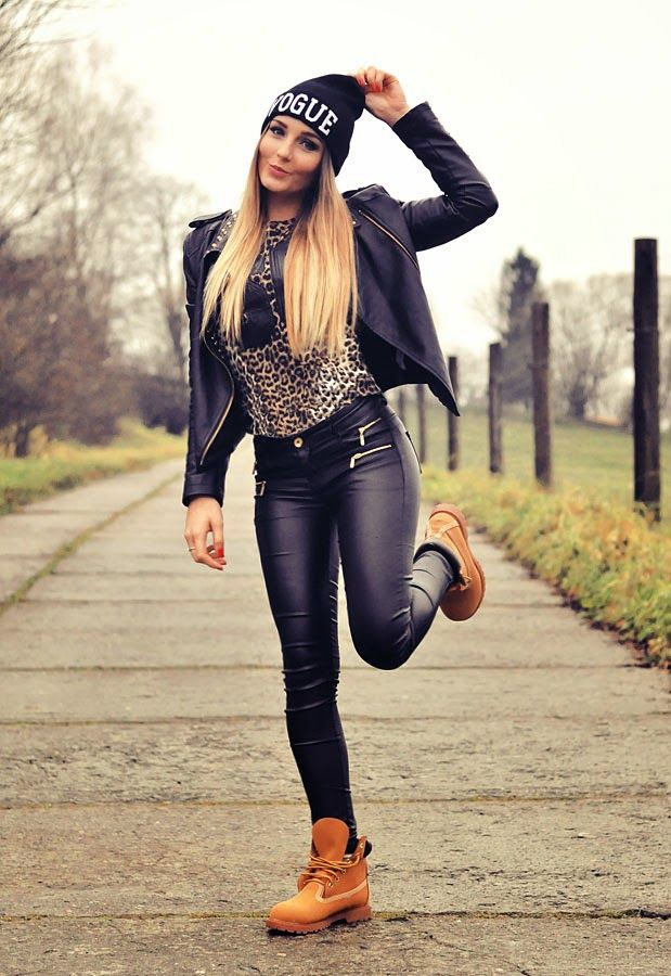 21 Cool Ways To Wear Timberland Boots For Women   geeks fashion 14c5e27bdd