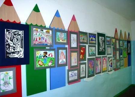 рисунки о детях для оформления выставочного материала типография предлагает цифровую